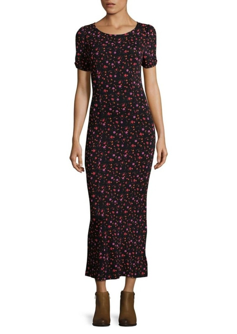 b9b4dea69399 Free People Free People Caroline Floral Midi Dress | Dresses
