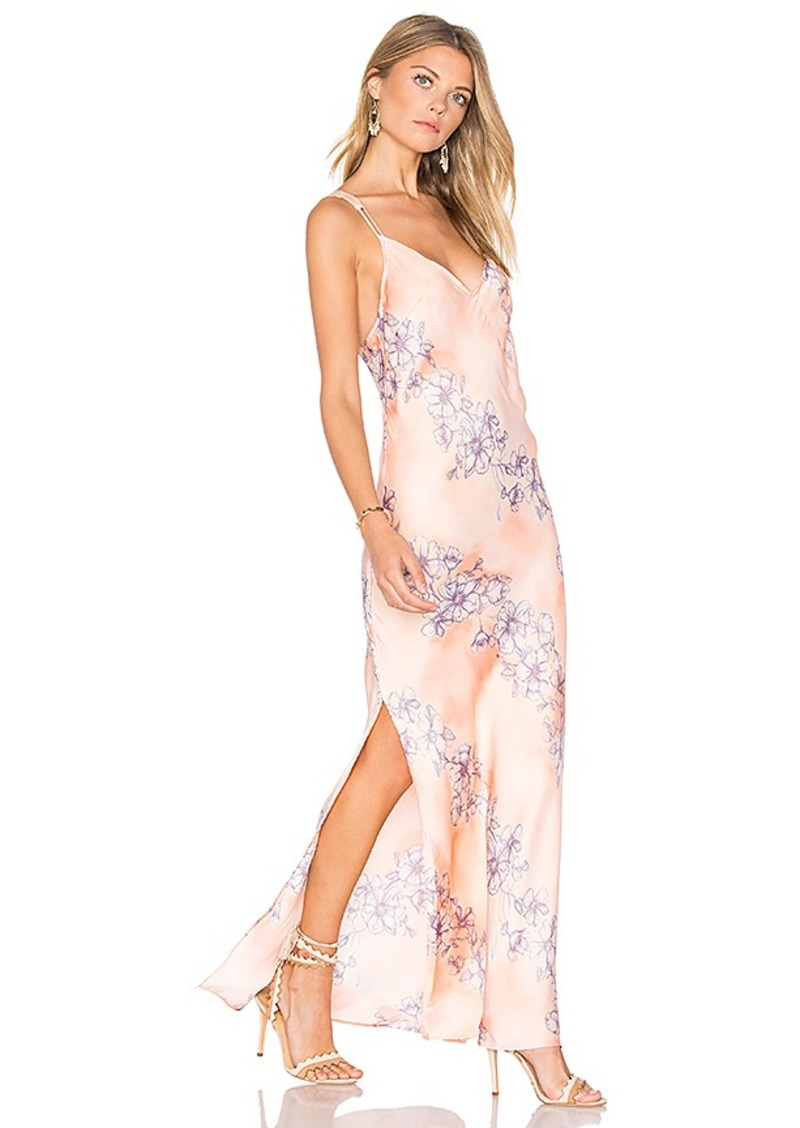 Free People Cassie Girl Slip Dress in Pink. - size L (also in M,S,XS)