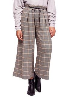 Free People Charlie Paperbag Wide Leg Pants