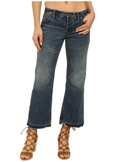 Free People Chelsea Cropped Kick Flare Denim