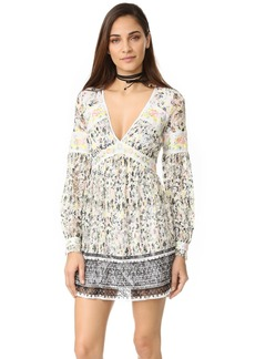 Free People Cherry Blossom Mini Dress