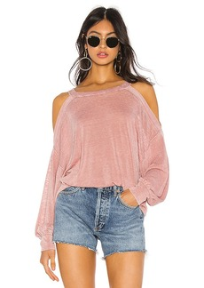 Free People Chill Out Long Sleeve Tee