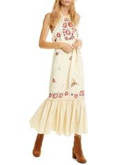 Free People Chrysanthemum Kiss Maxi Dress