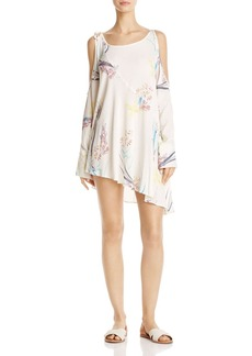 Free People Clear Skies Cold-Shoulder Dress