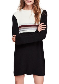 Free People Colorblock Sweater Dress