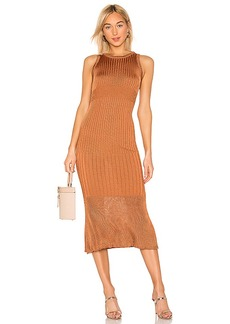 Free People Come My Way Midi Dress