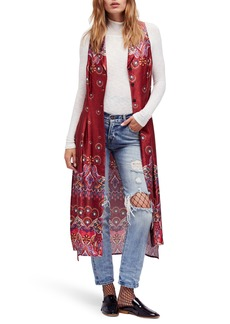Free People Come See About Me Maxi Vest