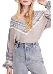 Free People Copenhagen Thermal Knit Top