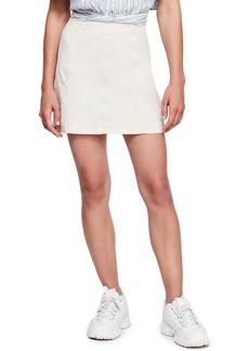 Free People Corduroy Miniskirt