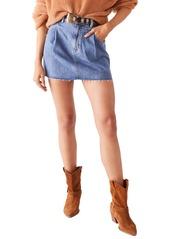 Free People Cosmico Flirt Denim Skirt