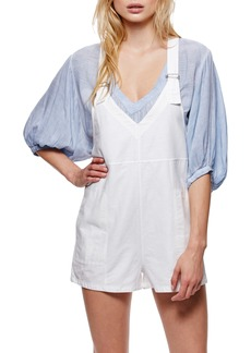 Free People Cotton & Linen Romper