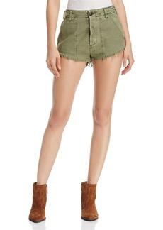 Free People Cotton Cutoff Shorts