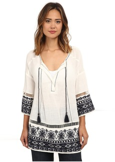 Free People Cotton Noyal Counting Stars Tunic