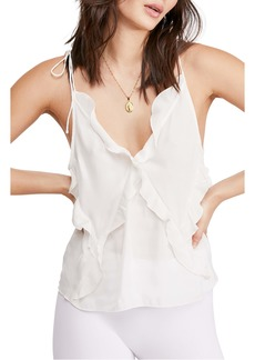 Free People Could Be Ruffle Camisole