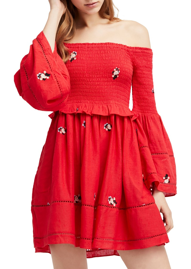 24c6d075e611b Free People Free People Counting Daisies Embroidered Off the ...