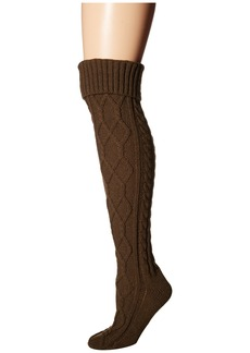 Free People Cozy Cable OTK Sock