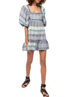 Free People Cozy Stripe Minidress