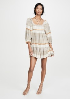 Free People Cozy Striped Mini Dress