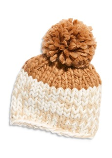 Free People Cozy Up Color Blocked Beanie