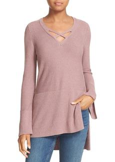 Free People Crisscross Sweater