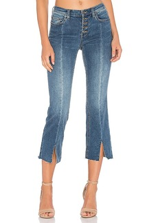 Free People Cropped Button Front Jean. - size 24 (also in 25,26,27,28,29,30)