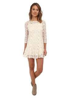 Free People Cross Dye Lace Walking To The Sun