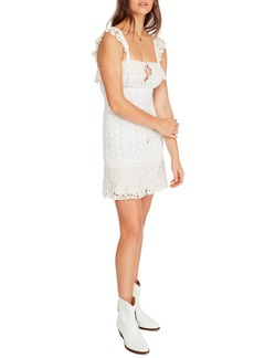 Free People Cross My Heart Minidress