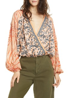 Free People Cruisin' Together Print Top