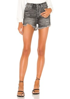 Free People Crvy Vintage High Rise Short