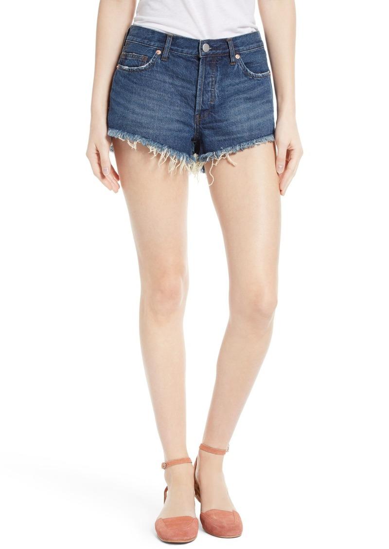 Free People Cutoff Denim Shorts