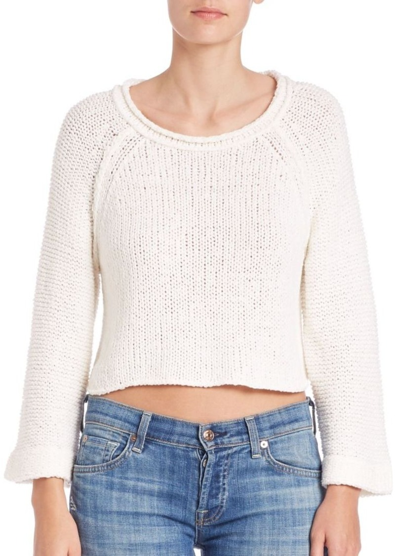 Free People Cutout Cropped Top