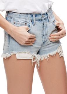 Free People Daisy Chain Cutoff Denim Shorts