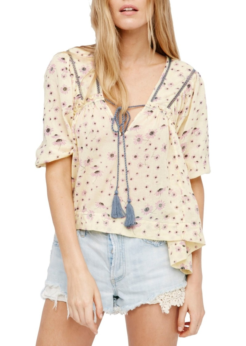 Free People Daisy Cotton Blouse