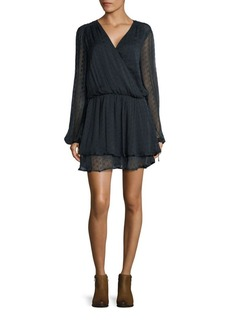 Free People Daliah Swiss Dot Mini Dress