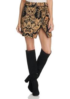 Free People Damask Mini Skirt