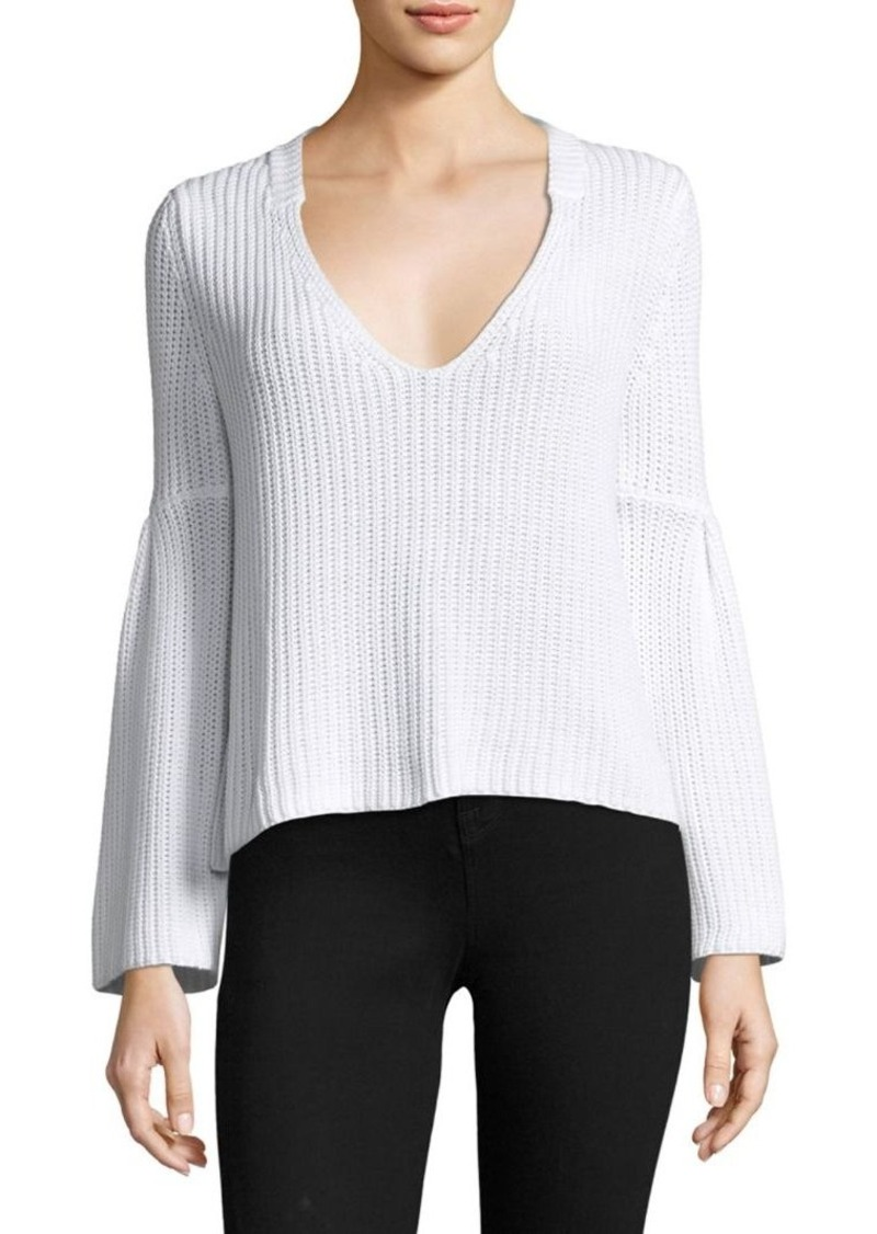 Free People Free People Damsel Cotton Pullover Sweater | Sweaters ...