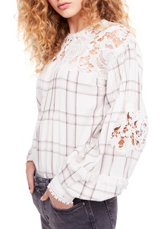 Free People Darling Diana Lace Top