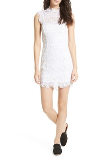 Free People Daydream Lace Minidress