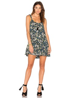 Free People Dear You Mini Dress in Blue. - size L (also in M,S,XS)