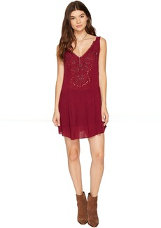 Free People Delphine Embellished Slip