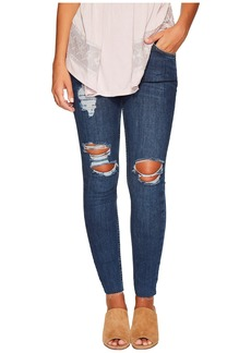 Free People Destroyed Reagan Raw Jeans