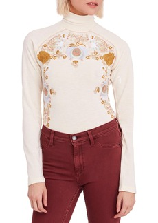 Free People Disco Rose Top