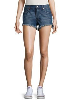 Free People Distressed Demin Shorts