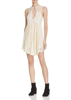 Free People Don't You Dare Lace Dress