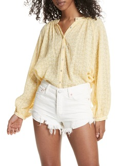 Free People Down from the Clouds Peasant Top