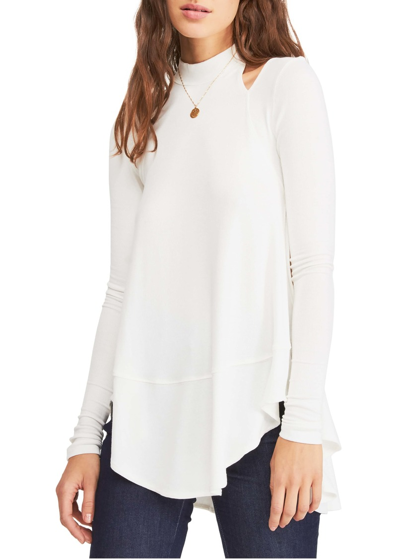 Free People Downtown Girl Cutout Tunic