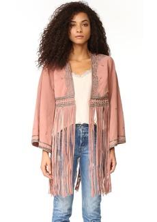 Free People Dramatic Kimono Jacket