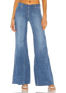 Free People Drapey A Line Pull On Jean