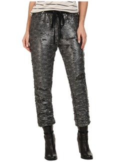 Free People Drippy Knit Sequin Jogger