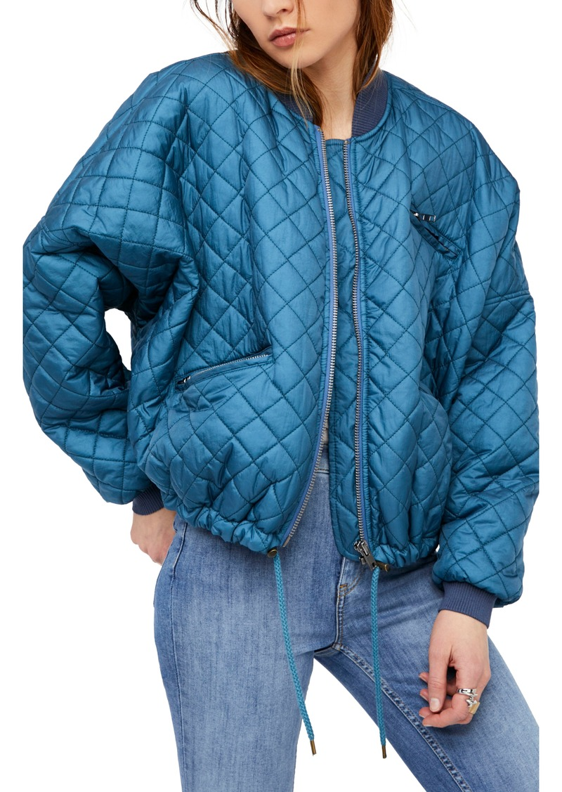 Free People Free People Easy Quilted Bomber Jacket
